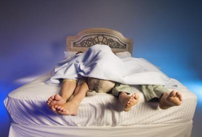 juntos en la cama